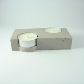 Beton Tealight 2'li